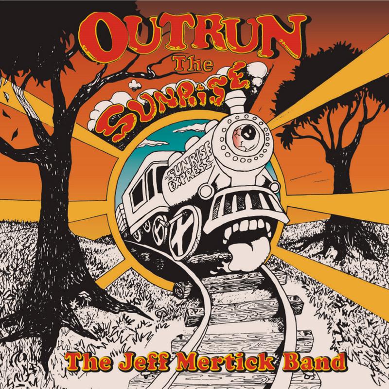 Outrun the Sunrise album cover