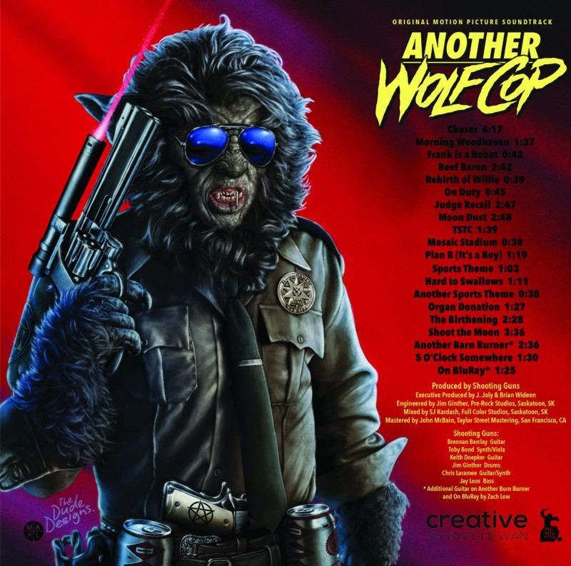 Another WolfCop OST album cover