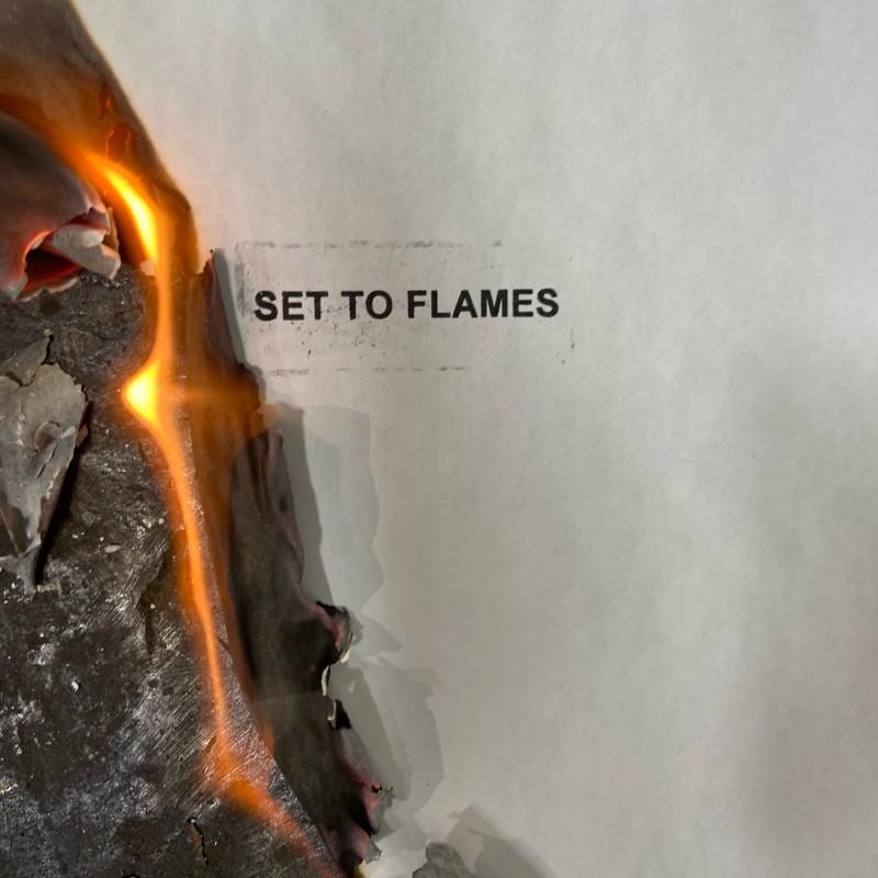 Set to Flames album cover