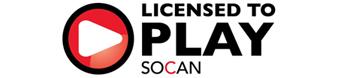 SOCAN licensed