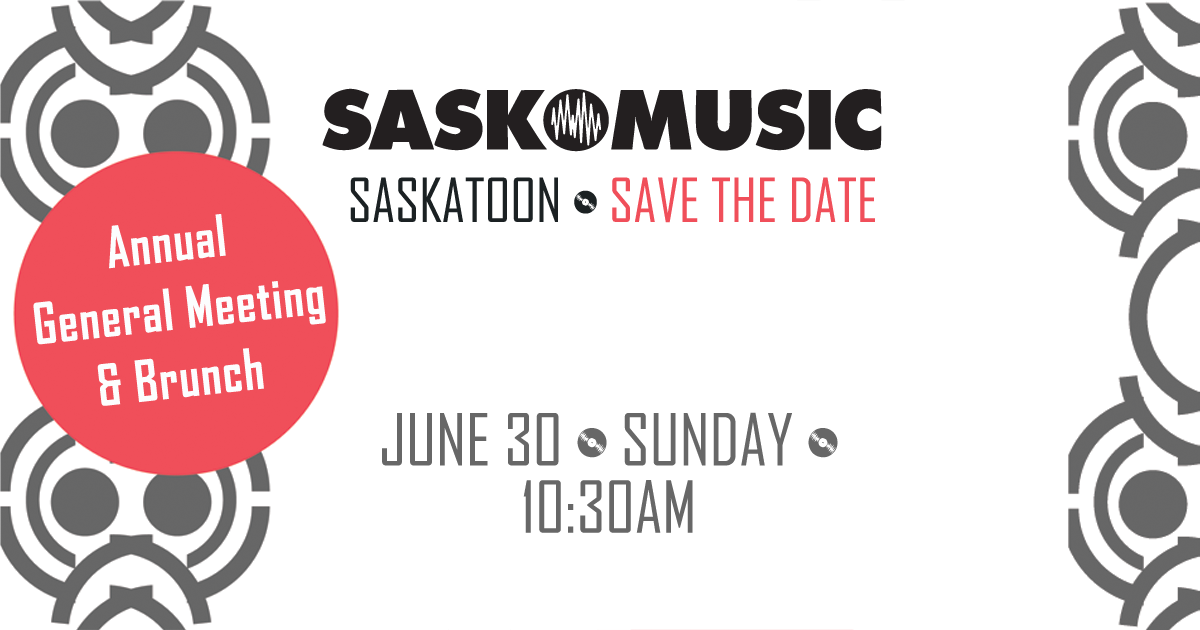 Saskmusic AGM