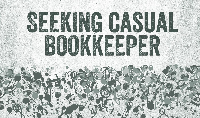 SaskMusic bookkeeper