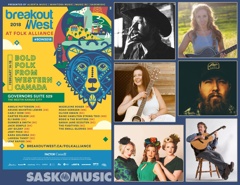 Folk Alliance Sask promo