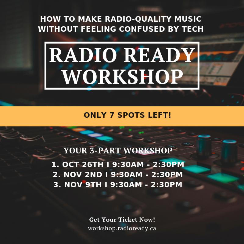 Radio ready workshop