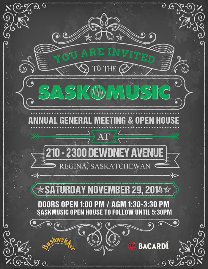 SaskMusic Invite
