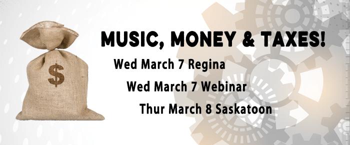 Music, Money & Taxes