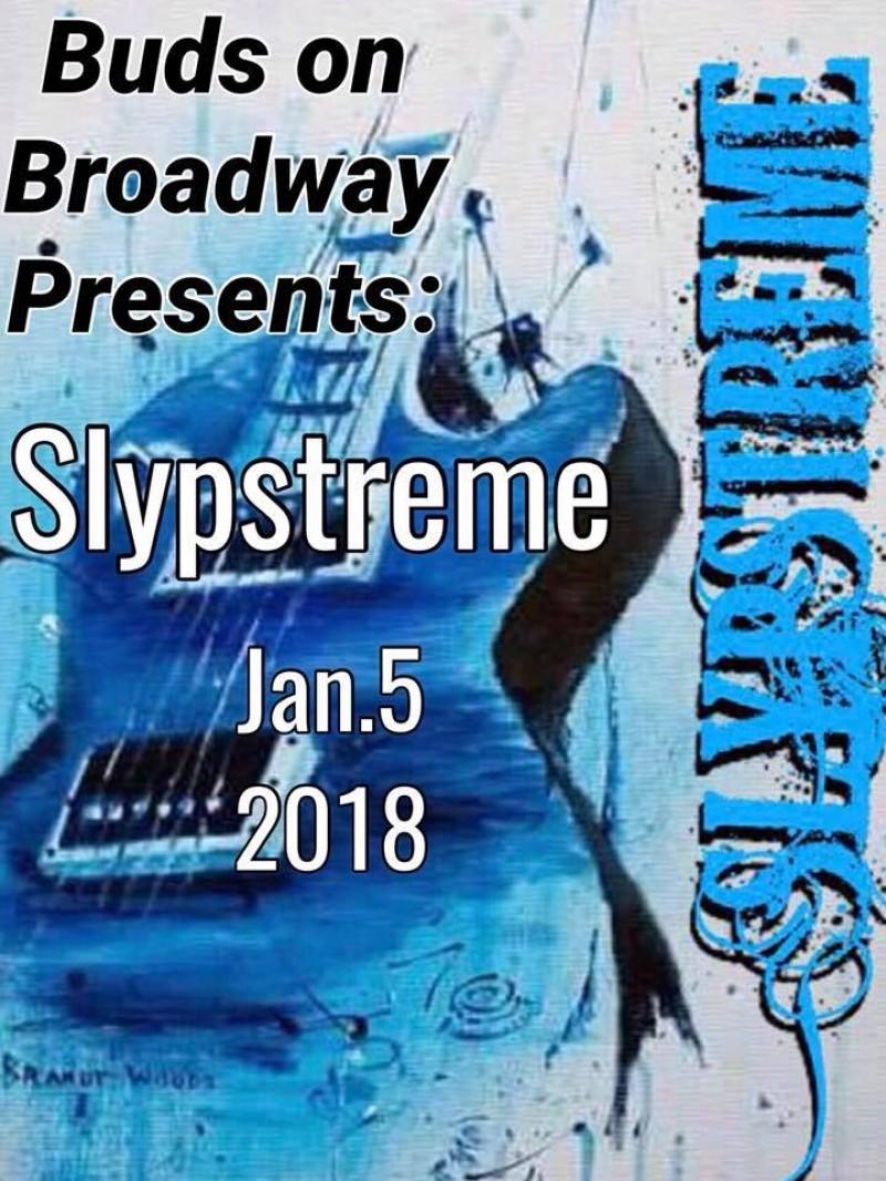 slypstreme bud 39 s on broadway events calendar saskmusic. Black Bedroom Furniture Sets. Home Design Ideas