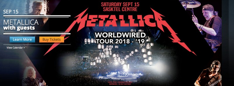 Metallica Worldwired Tour 2018 - 2019 with guests | Events