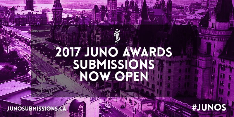 Assistance for your JUNO Award Nominations!