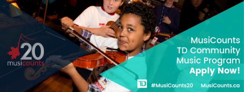 MusicCounts Community Music Grant Program