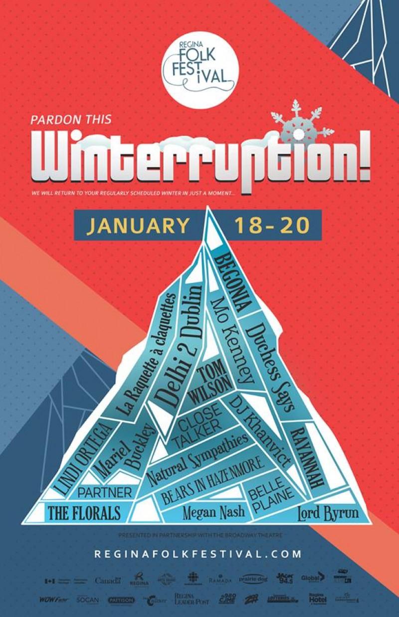 Regina Folk Festival Announces 2018 Winterruption Lineup