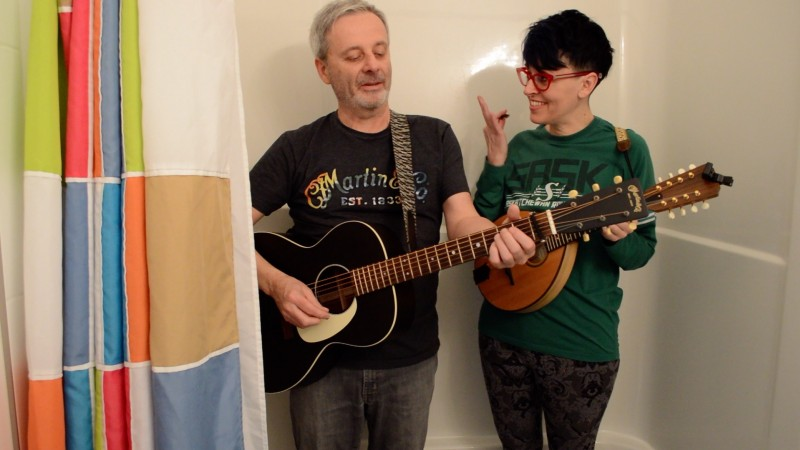 The Strange Valentines embarking on a live video series 'Live in the Tiny Tub'!