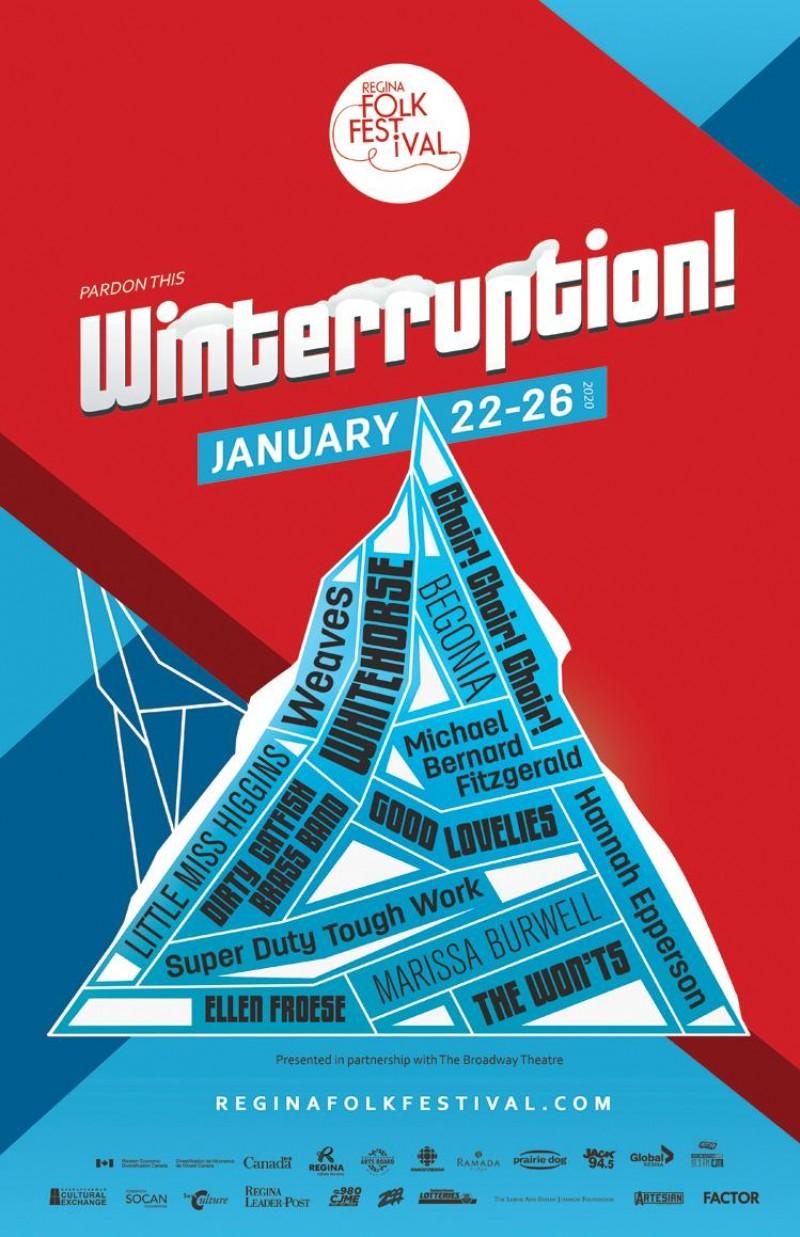 Regina Folk Fest Winterruption 2020 Line Up Announcement