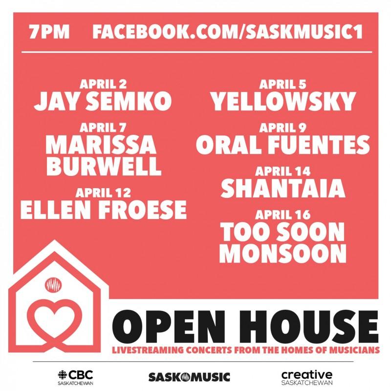 SaskMusic and CBC Sask Present the