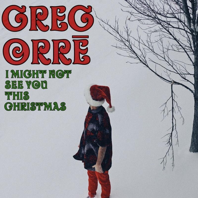 Greg Orrē, lead singer of Too Soon Monsoon, releases pandemic inspired Christmas single