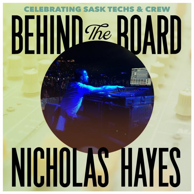 Behind the Board: Nicholas Hayes