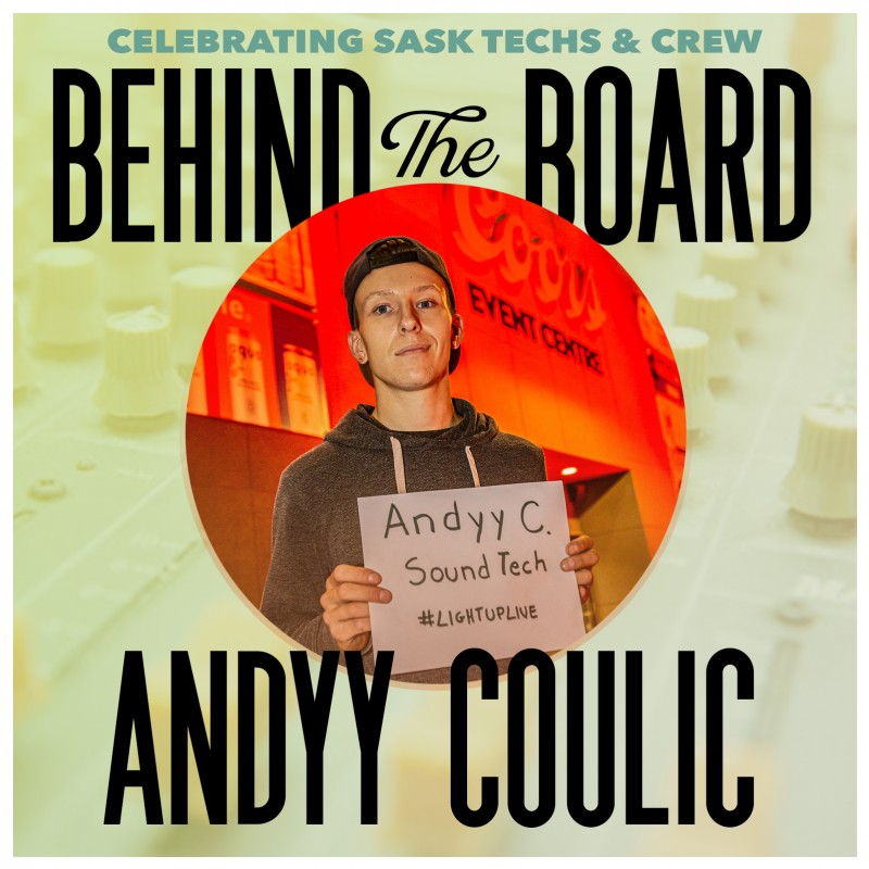 Behind the Board: Andyy Coulic