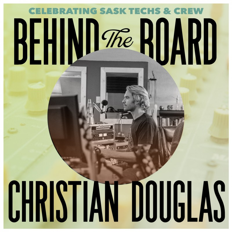 Behind the Board: Christian Douglas