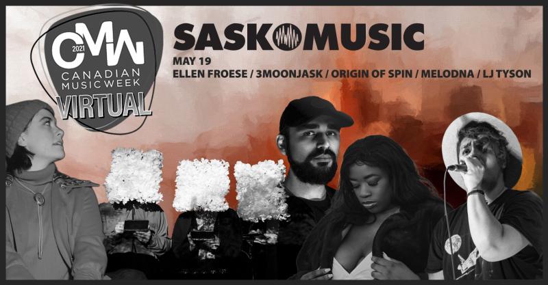 SaskMusic Showcase at Canadian Music Week 2021