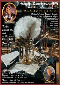 Saskatchewan Trumpet Player Richard Carson Steuart Returns Home for Canadian Benefit Concert Tour