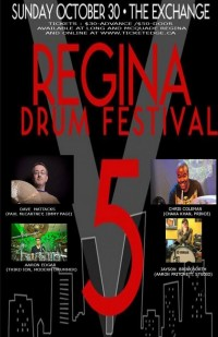 REGINA DRUM FESTIVAL 2016 – THE BEAT GOES ON
