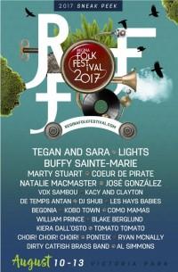 Regina Folk Festival 2017 Lineup Announced