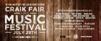The 2nd Annual Craik Fair and Music Festival