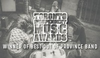 The Wolfe Wins 'Best out of Province Band' at The 2017 Toronto Independent Music Awards
