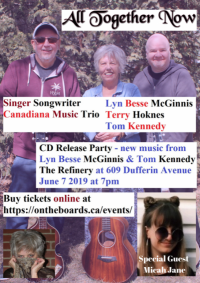 ALL TOGETHER NOW Trio Celebrates the Release of New Solo Albums from Two Members!