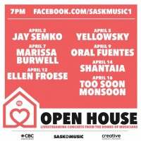 SaskMusic and CBC Sask Present the
