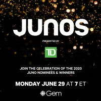 The JUNOS to Announce Winners During Virtual Event June 29 on CBC Music and CBC Gem,