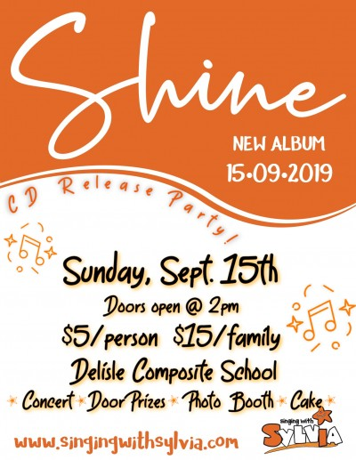 Sylvia Chave Launching Third Solo Children's Album on Sept. 15, 2019