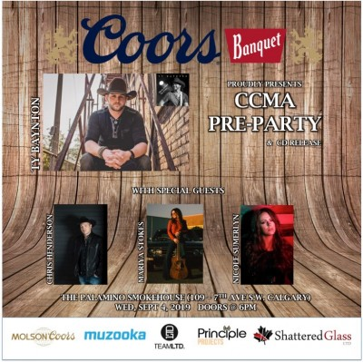 SaskMusic and Artists at Country Music Week 2019, Calgary AB