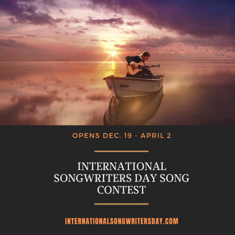 Contest Opportunity: International Songwriters Day Song Contest