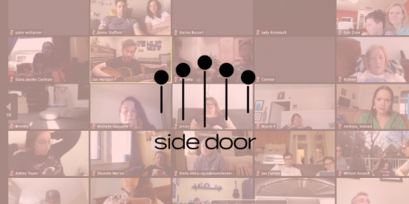 Performance Opportunity: Side Door Ticketed Live-Streamed Shows