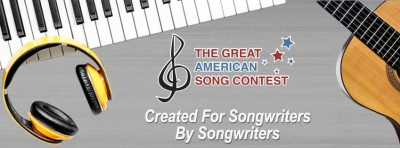 Contest Opportunity: The 22nd ANNUAL GREAT AMERICAN SONG CONTEST 2020