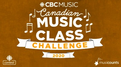 Contest Opportunity: CBC Music's Canadian Music Class Challenge
