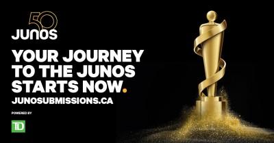 Award Opportunity: 2021 JUNO Awards